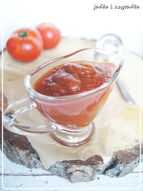 Jadło i czytadło: Fantastyczny ketchup z dyni