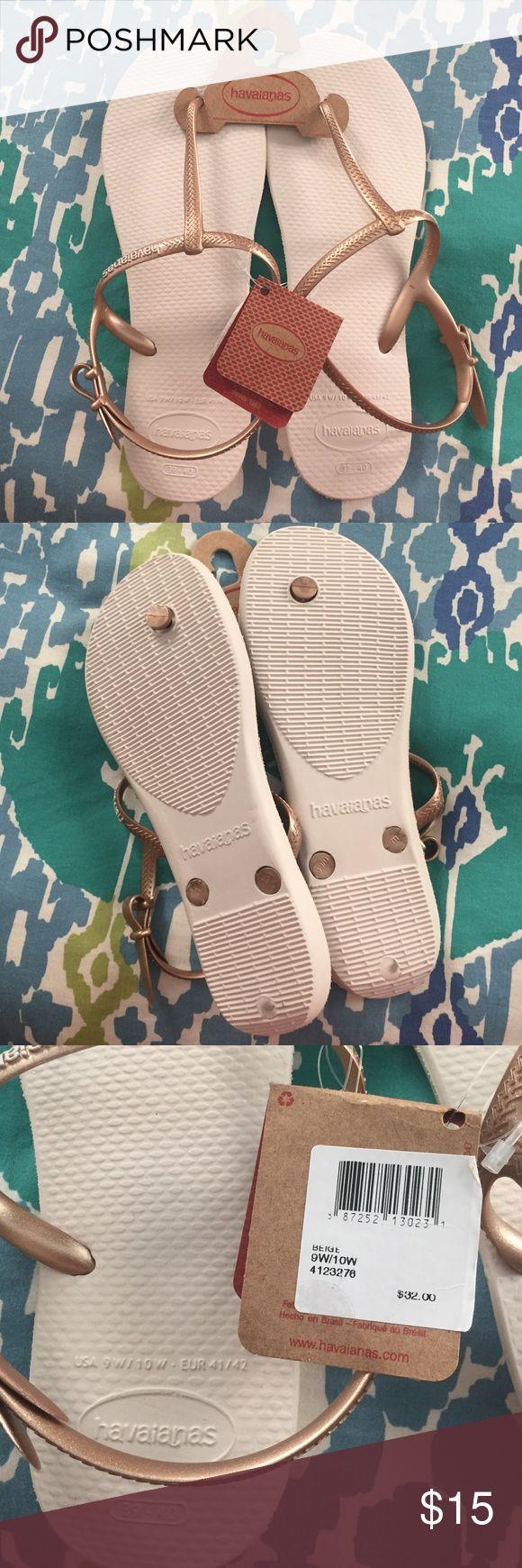 Havaianas Freedom Flip Flops Havaianas Freedom flip flops. Size 9W/10W (39-40) Havaianas Shoes Sandals