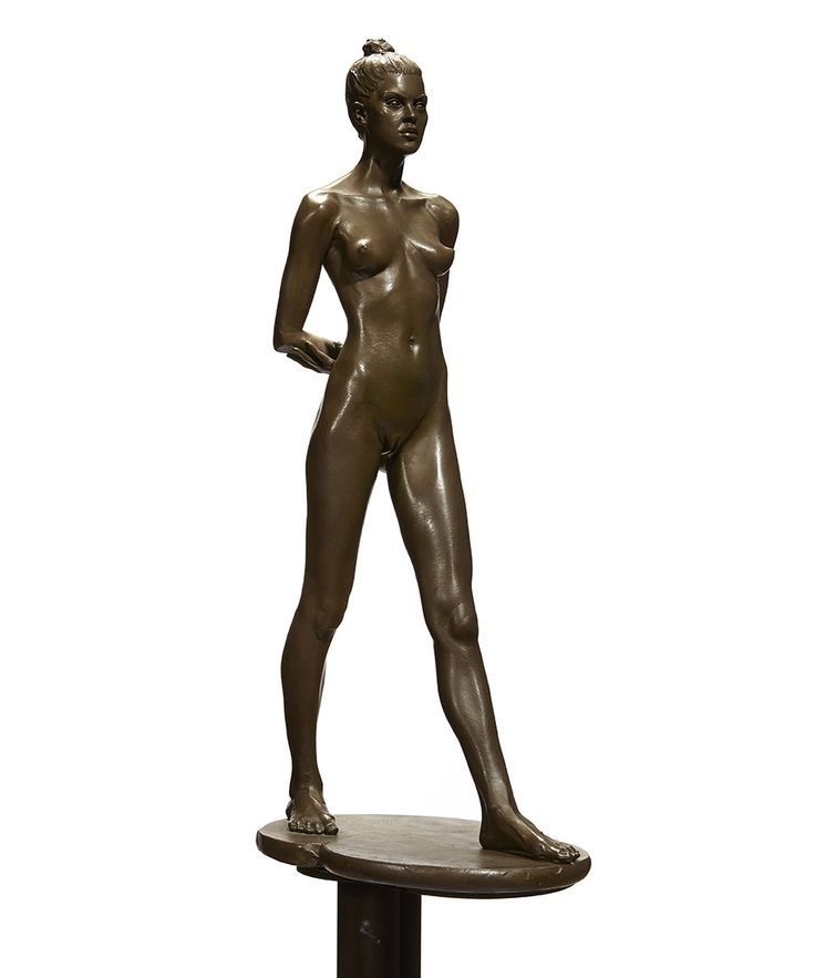The late star's most prized mementos are up for auction this month. Robert Graham (American, 1938-2008) Elisa, circa 1994. Bronze with light brown patina on brass base. Height overall 58 5/8in (149cm) $20,000-$30,000. This work is from an edition of twelve.