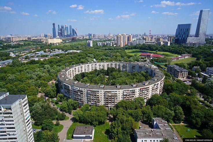 Картинки по запросу круглый дом в москве