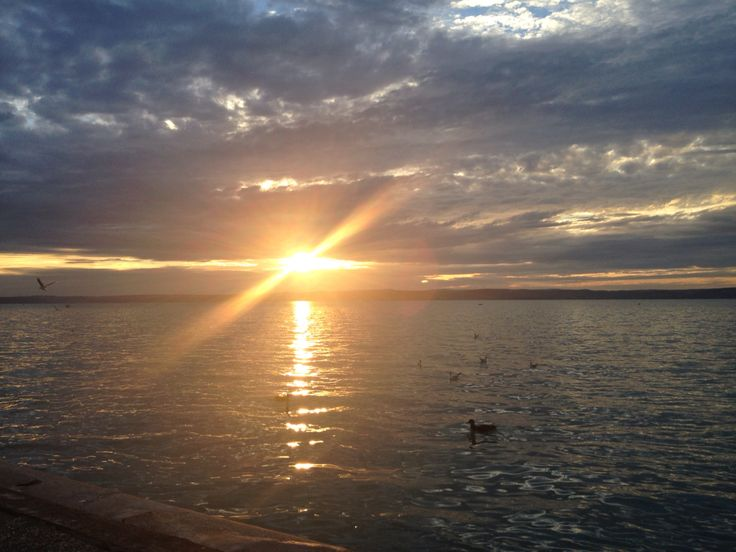 Sunset #Balaton Siófok