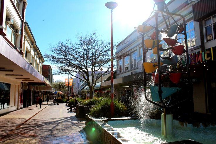The Bucket Fountain, Cuba St Mall
