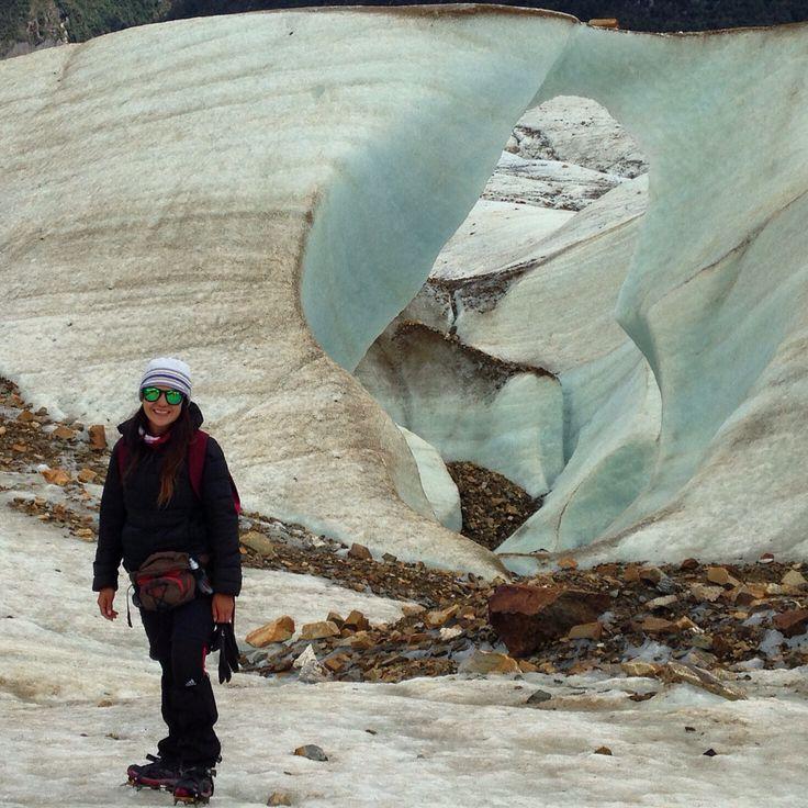 Glaciar exploradores Patagonia chilena