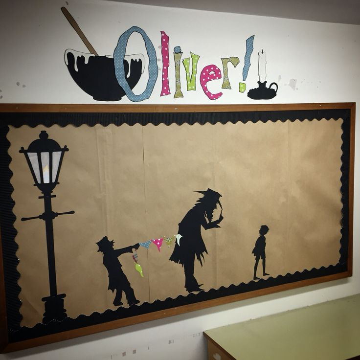 Ready for some work on Oliver Twist!