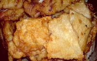 Retete simple, mancare delicioasa: Snitele din telina si piept de pui cu maioneza de usturoi