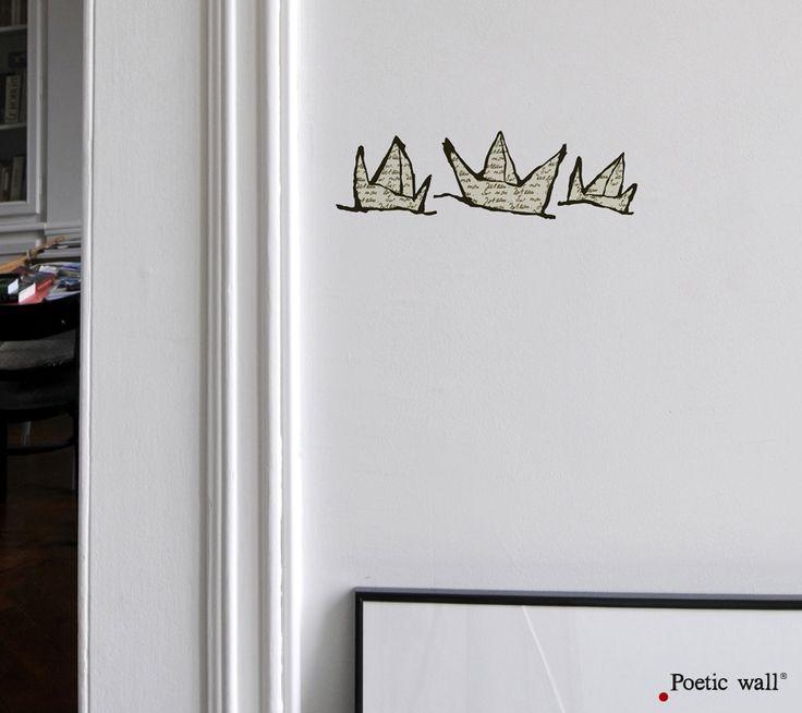 Poetic wall - stickers - Sur mon bateau