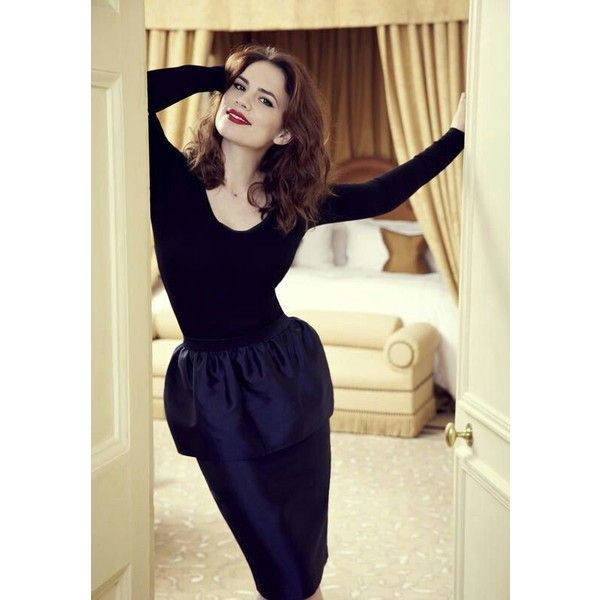Hayley Atwell My Likes found on Polyvore