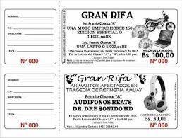 Resultado De Imagen Para Como Hacer Un Talonario De Rifas Rifa Para Imprimir Boletos De Rifa Rifa