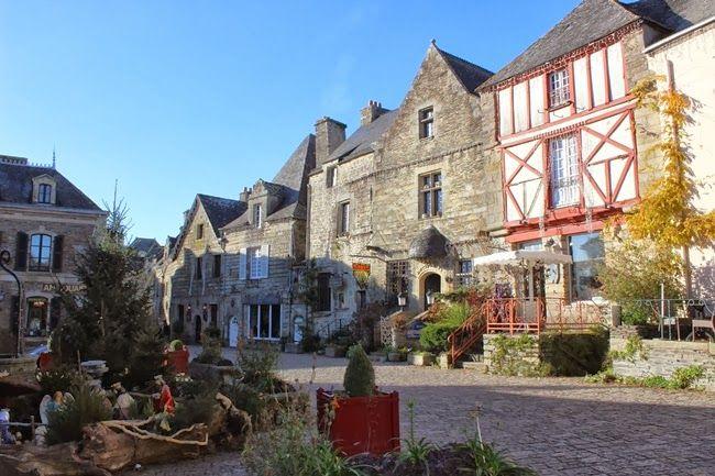 Lady Breizh - Les Tribulations d'une Bigoudène: Balade à Rochefort en Terre