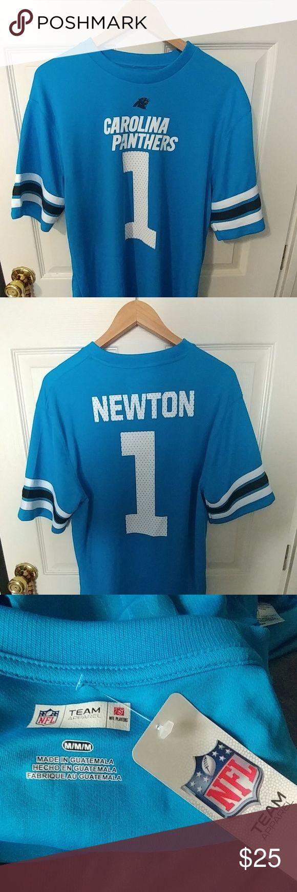 Cam Newton Carolina Panthers Shirt Jerseys NFL Jersey mesh t shirt Jersey, New with tags o.b.o. Nike Shirts Tees - Short Sleeve