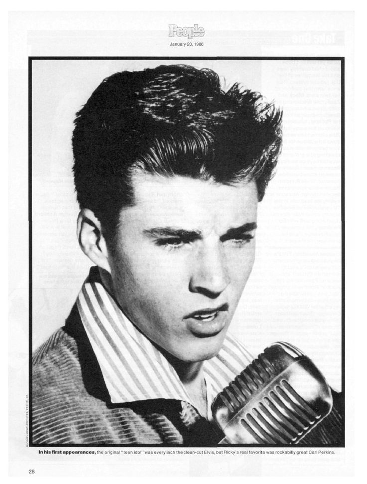 Ricky Nelson Death | Rick Nelson 1940-1985 - Death, Personal Tragedy, Ricky Nelson : People ...
