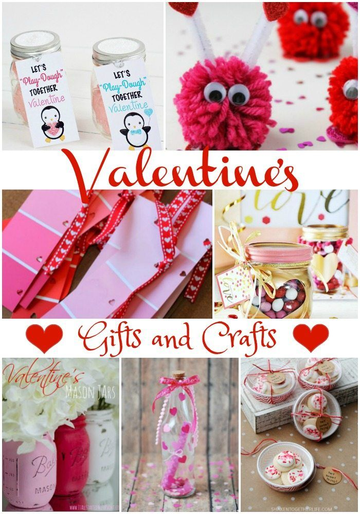 Make this Valentine's Day a fabulous one with all these great Valentines Gifts and Crafts! So many things you can do and make yourself!