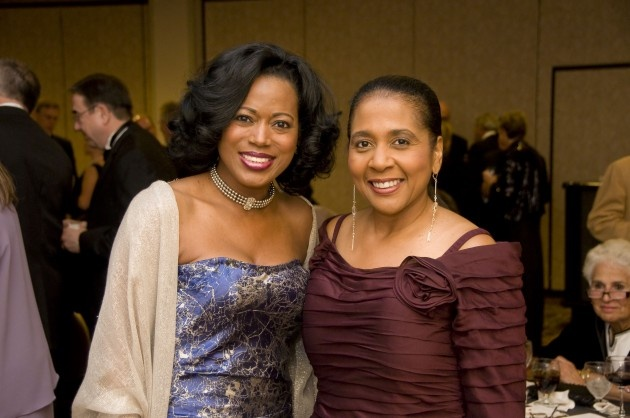Cheap Wedding Dresses Des Moines Iowa: Karen Parks At Dr. Angela Franklin's Inauguration As The
