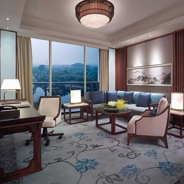 Designed based on the Confucian philosophy of Six Arts, this luxury hotel located in the birthplace of #China's most respected philosopher offers a perfect blend of tradition and contemporary elegance. - at Shangri-La Hotel, #Qufu.