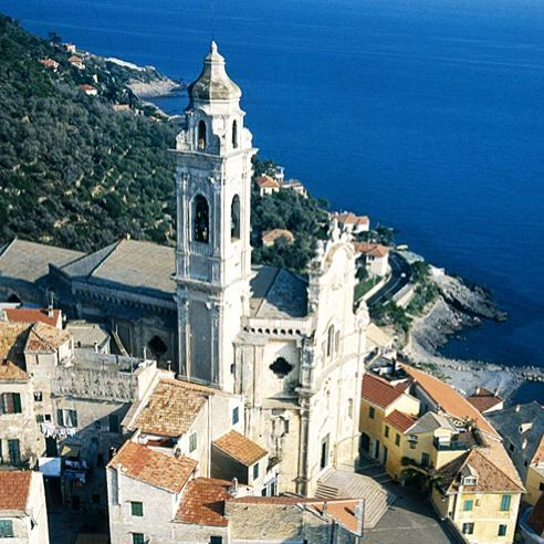 "Cervo, a lovely village located just 20min drive from ""La Meridiana"" Garlenda."