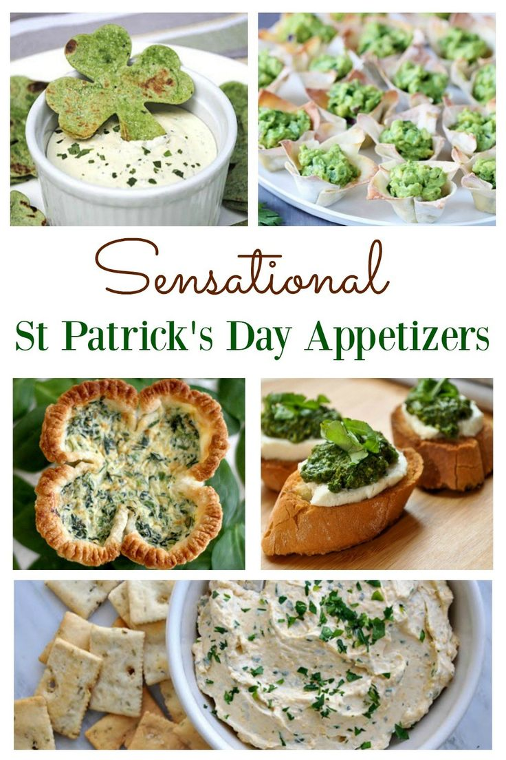 Delicious St Patrick's Day Appetizers