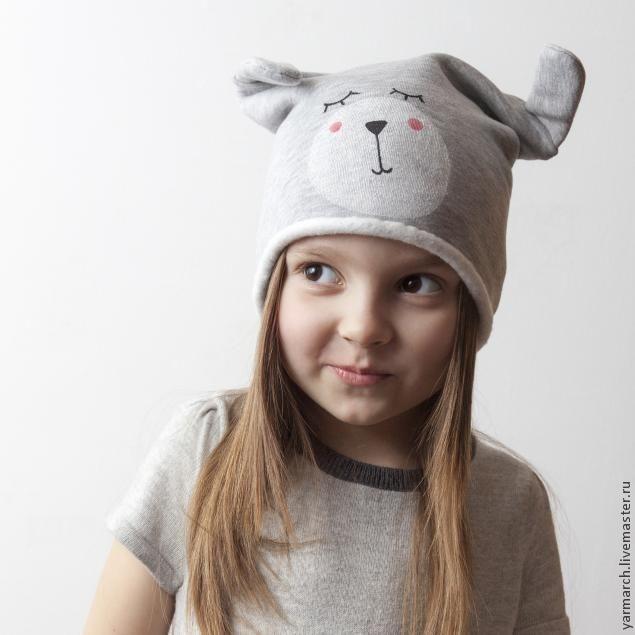 """Шьем весеннюю шапочку """"Зайчишка"""" - Ярмарка Мастеров - ручная работа, handmade"""