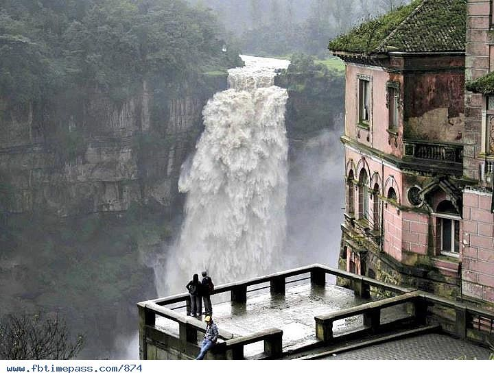 This SOOOO looks like a place I really got to go... Tequendama Waterfalls, Bogota, Colombia