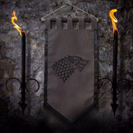 Spiel der Throne Flagge Vorhang Haus STARK Wohnkultur von Oki007