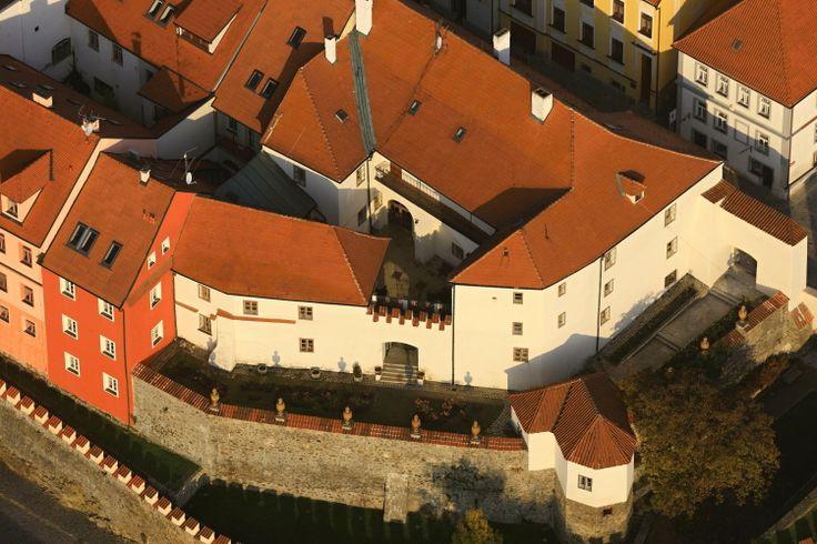 Písek, (South Bohemia), Czechia - At the Cannonball House