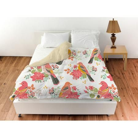 thumbprintz littlest bird duvet cover