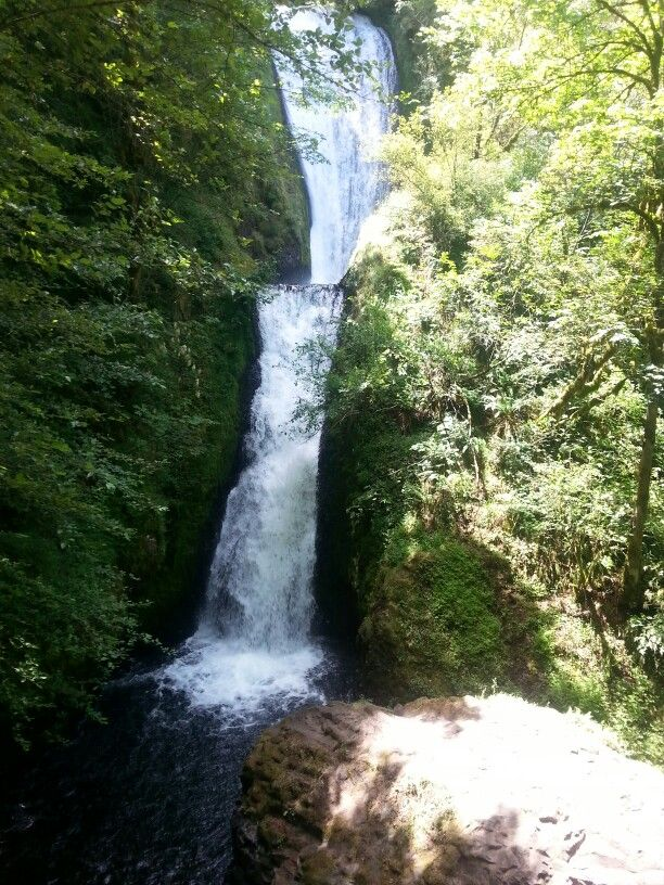 Bridal Veil in Columbia River Gorge - gorgeous hike to this beautiful site.