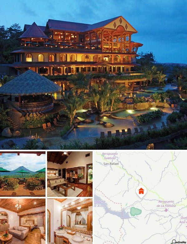 L'hôtel est situé au bord d'une rivière. Le parc national du volcan Arenal est l'un des sites touristiques les plus importants de la région. San Jose se trouve à 350 km de l'hôtel.