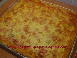 Τα φαγητά της γιαγιάς: Πίτσα γίγας με αφράτο φύλλο