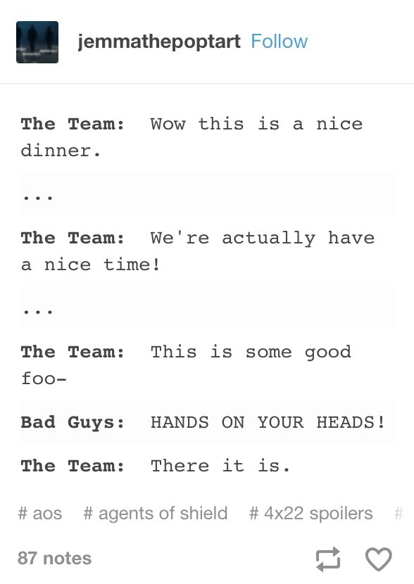 I haven't even watched season 4 yet, but this just kind of always applies.