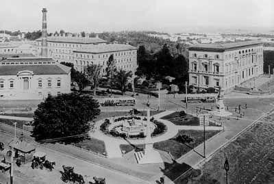 The Treasury Building complex, c. 1897