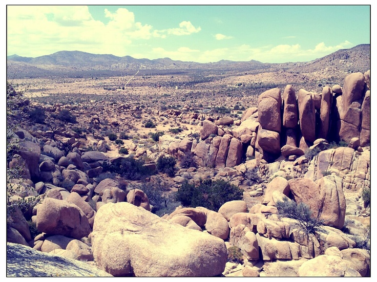 One of my favorite places: the Joshua Tree Boulder House.
