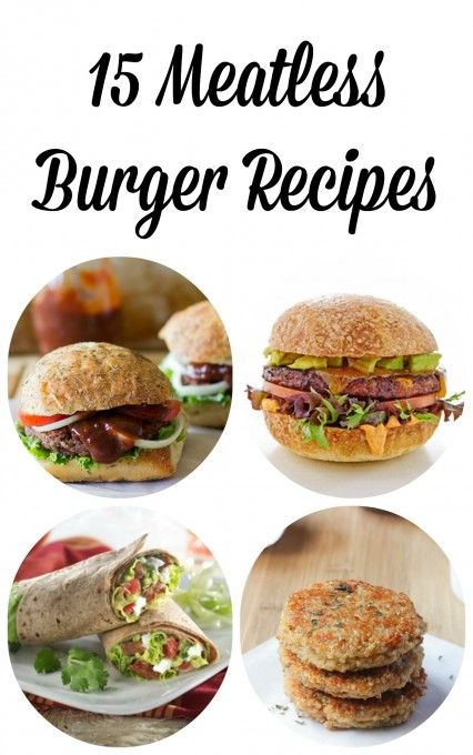 Vegetarians and non-vegetarians alike can all enjoy these 15 Meatless Burger Recipes that will guarantee a filling, satisfying and tasty meal!