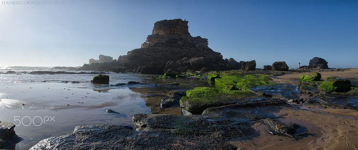 Playa de Cordama - Foto llena de detalles que buscar en la playa de Cordama Algarve Portugal