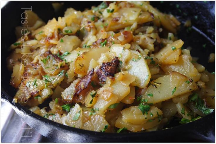 Amazing Sauteed Potatoes Skillet Recipe!