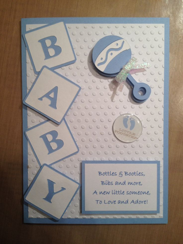 Baby Card Making Ideas Part - 16: Cards By Brenda..... Made To Order. Baby Cards. Cricut. Baby GiftsGift  IdeasCard ...
