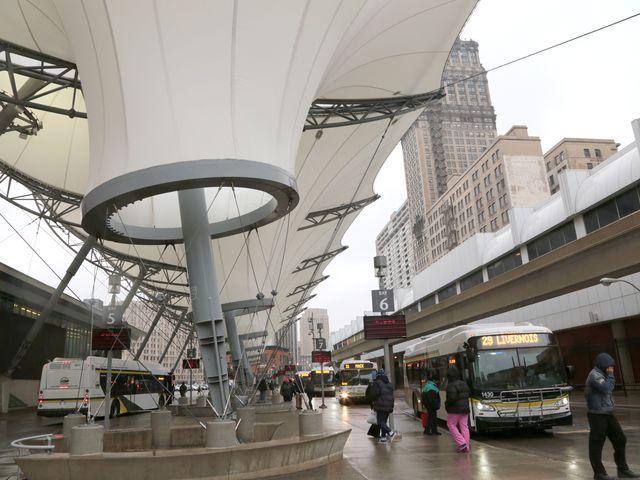 Problems mar Rosa Parks Transit Center; city plans fixes