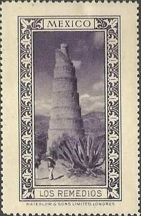 coleccion de 8 estampillas cindirella antiguas mexicanas