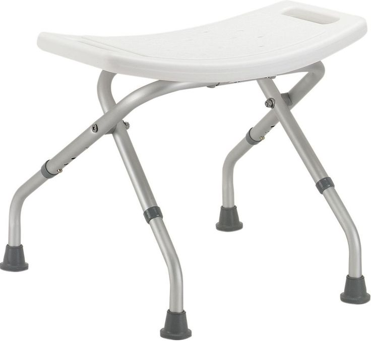 details about portable folding shower chair bathtub seat without back lightweight shower chair