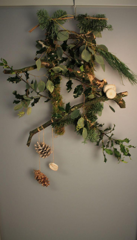 Meer dan 1000 ideeu00ebn over Natuurlijke Kerst op Pinterest - Kerstdecor ...