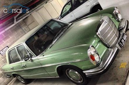 1972 Mercedes-Benz 280SE W108