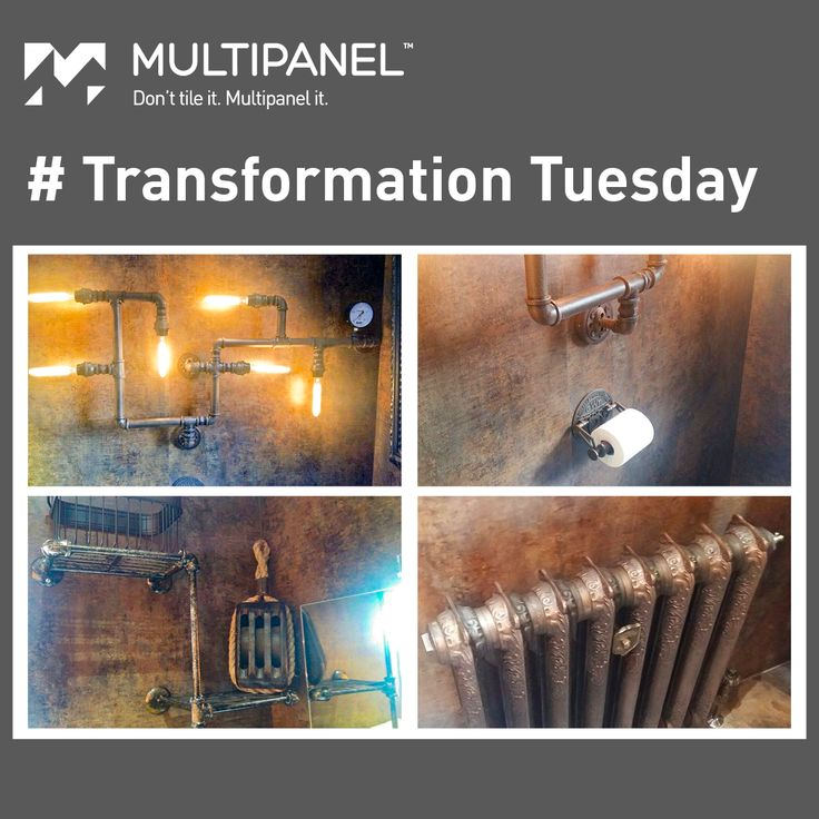 Multipanel can cater to your concept.   Take a look at this incredible #Steampunk customised bathroom with our Classic Range - Patina Bronze panels.  Have an interior vision? Let's make it a reality.