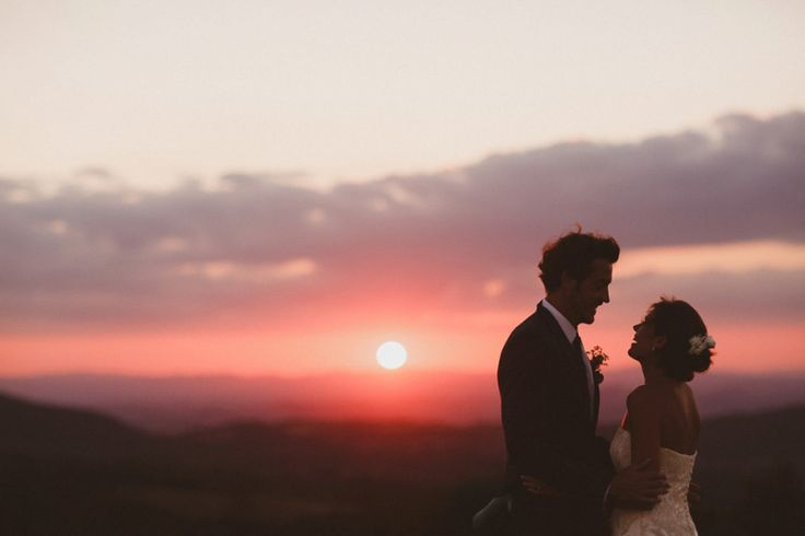 An Oxfam Charity Shop Dress and Maids in Yellow for a Homespun Wedding in Tuscany | Love My Dress® UK Wedding Blog