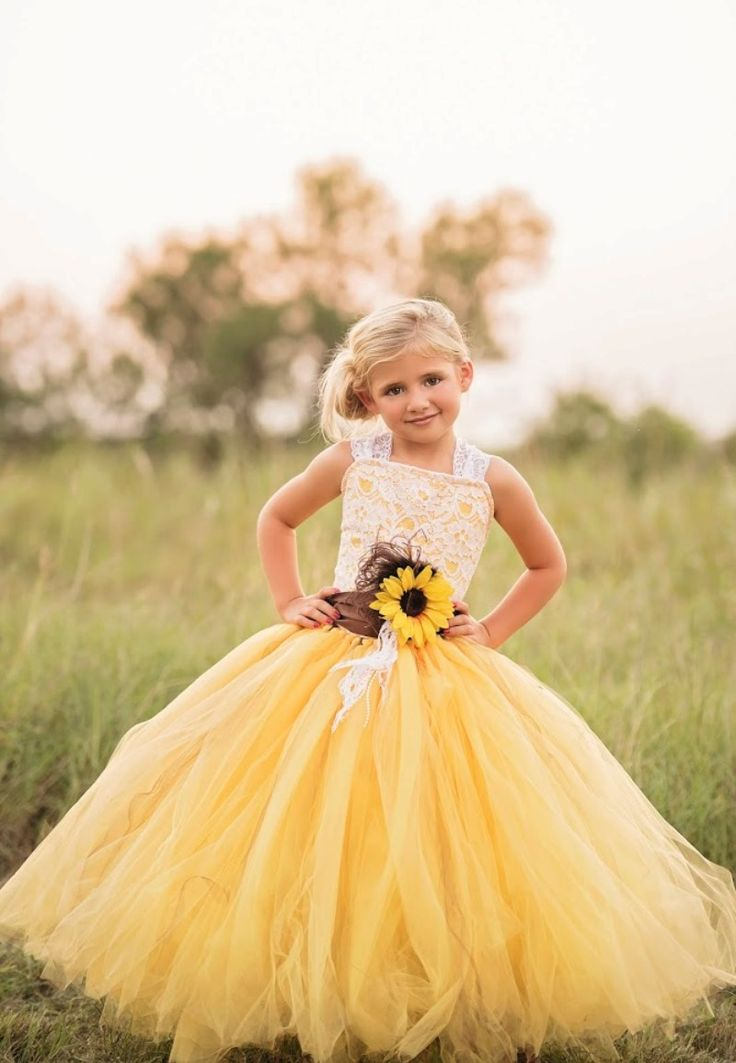 Fall 2016 sunflower flower girl...  love! See more here: https://www.etsy.com/listing/463806238/yellow-sunflower-dress-yellow-dress-lace?ga_search_query=sunflower&ref=shop_items_search_1