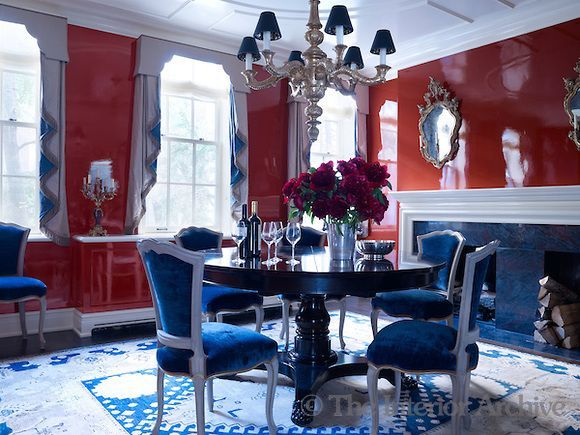 77 best Paint it! Red images on Pinterest | Red walls, Red rooms ...