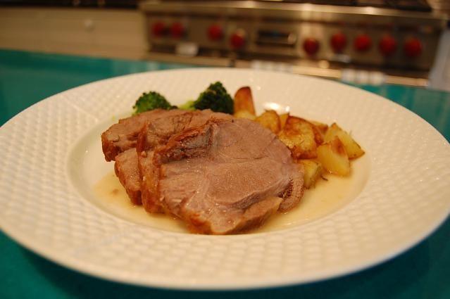 Succulent Yet Simple Pork Pot Roast: Braised pork shoulder