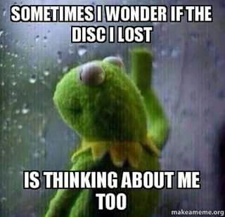 Disc golf humor. Hahaha, I soooo LOVE this. Another: Way of the Disc! I would CRY for days if I lost my favorite disc's!