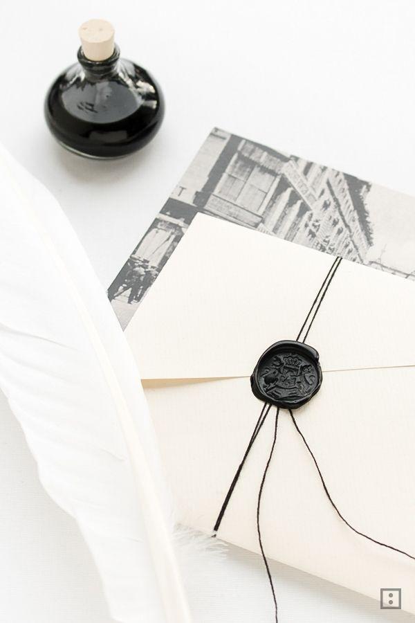 Briefumschlag aus DIN A4 Blatt falten (http://zwoste.de)