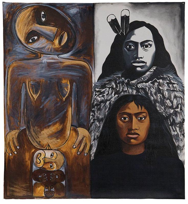 Robyn Kahukiwa, Tuakiri/Identity series, 1994