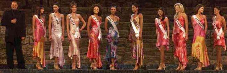 Venezuela dentro del Top 10 de Semi- finalistas en el Certamen de Miss Universe 2000