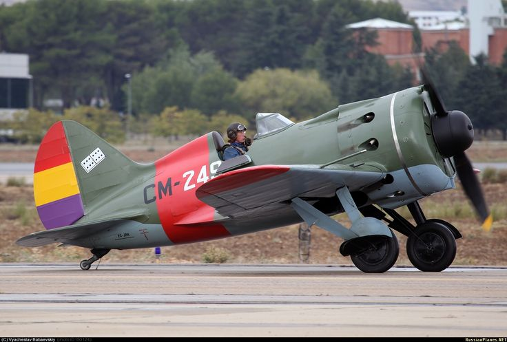Polikarpov I-16 in Spanish Republican colors